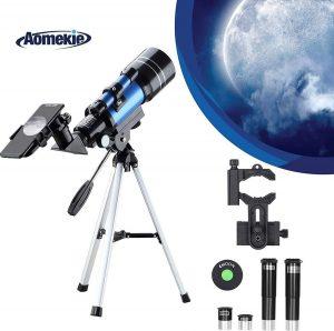 Telescopio astronómico ultra claro