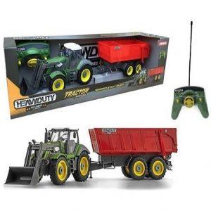 Tractor radiocontrol con remolque Ninco Heavy Duty