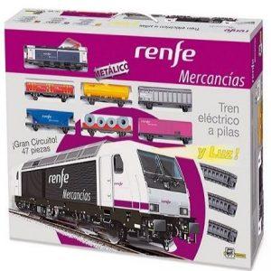 Tren eléctrico de mercancías Renfe Pequetren