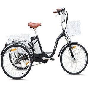 "Triciclo eléctrico Jorvik de 24"""